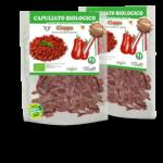 capuliato di pomodori secchi bio tritati in doypack 100% compostabile