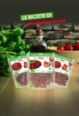 idee in cucina con le ricette di pomodorisecchi.com agriblea