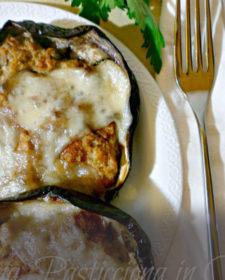 Melanzane ripiene con tonno e pomodori secchi
