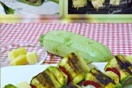 Spiedini di Polpette, Zucchine e Ciliegini Secchi Agriblea