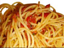 Spaghetti con capuliato