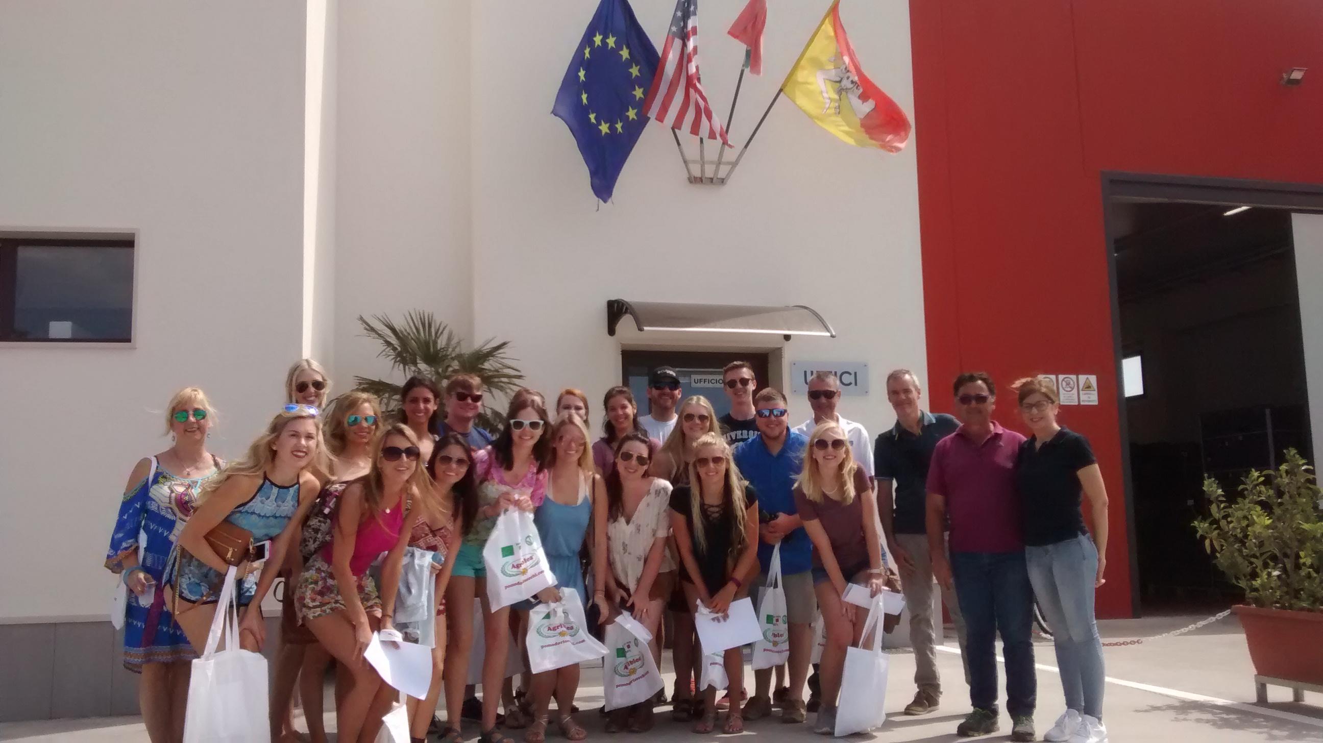 Università di Palermo e Università della Florida visita di studio