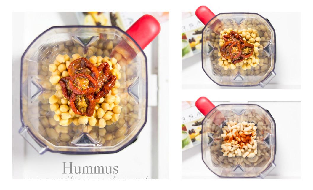 hummus pomodori secchi