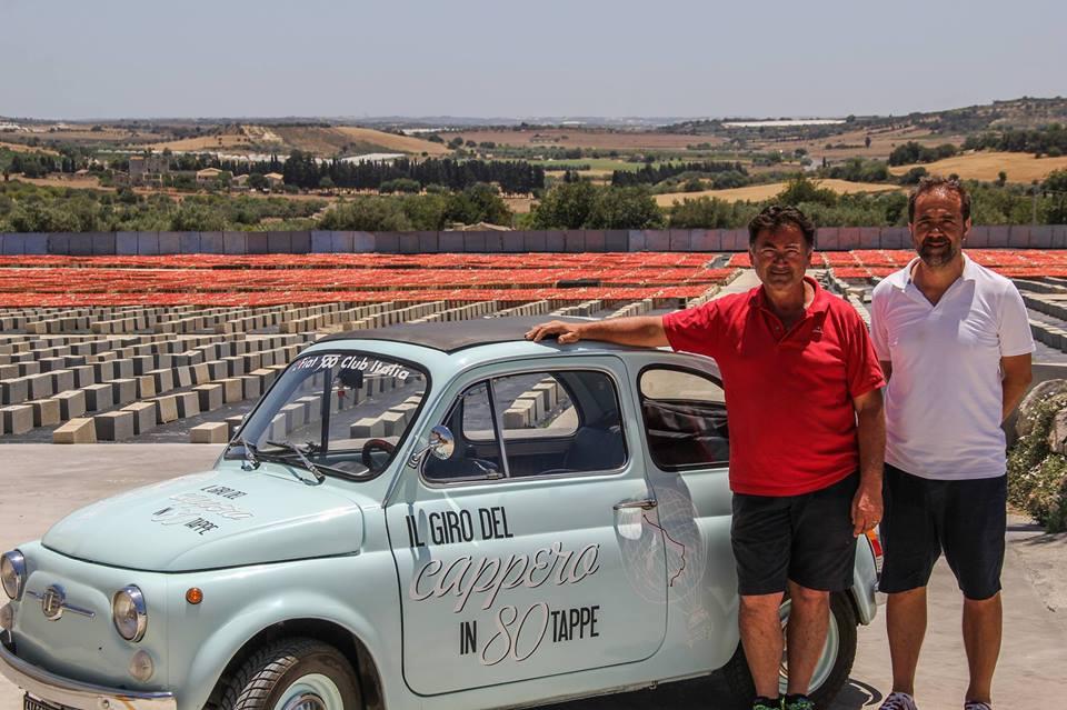 il giro del cappero visita Agriblea