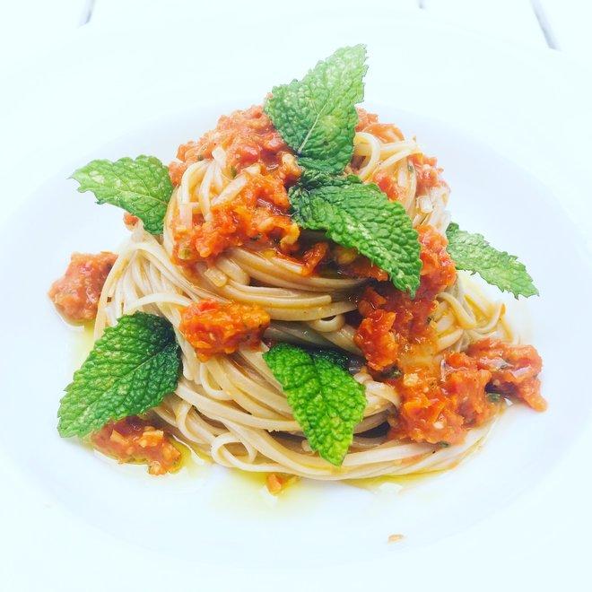 SUN-DRIED TOMATOES PATE' - recipe organic by Patrizia Natureat Blog