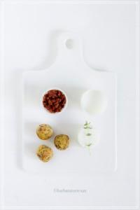 Polpette con quinoa e pomodori secchi