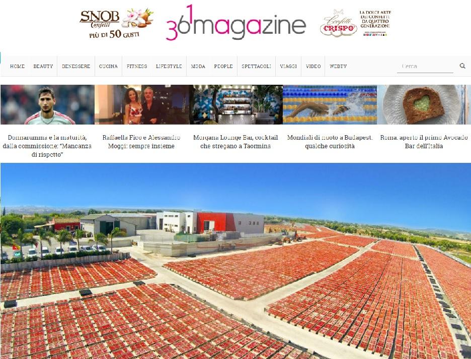 Pomodori secchi su 361 magazine on line