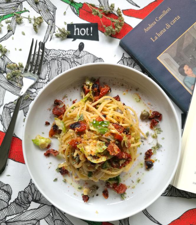Pasta ai ciliegini siciliani ispirata a Montalbano