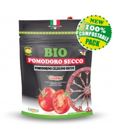 Organic sun-dried cherry tomato - Doypack 100 g compostable