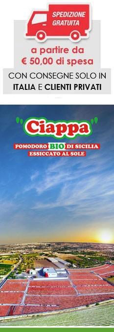 SPEDIZIONE GRATUITA OLTRE LE EUR 50,00 DI SPESA (SOLO ITALIA)