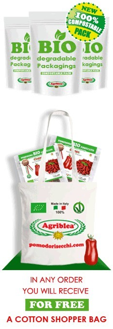 In any order you will receive for free a cotton shopper bag