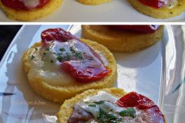 bocconcini di polenta e pomodori secchi