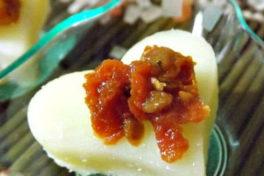cuori di formaggio e pomodori secchi siciliani bio