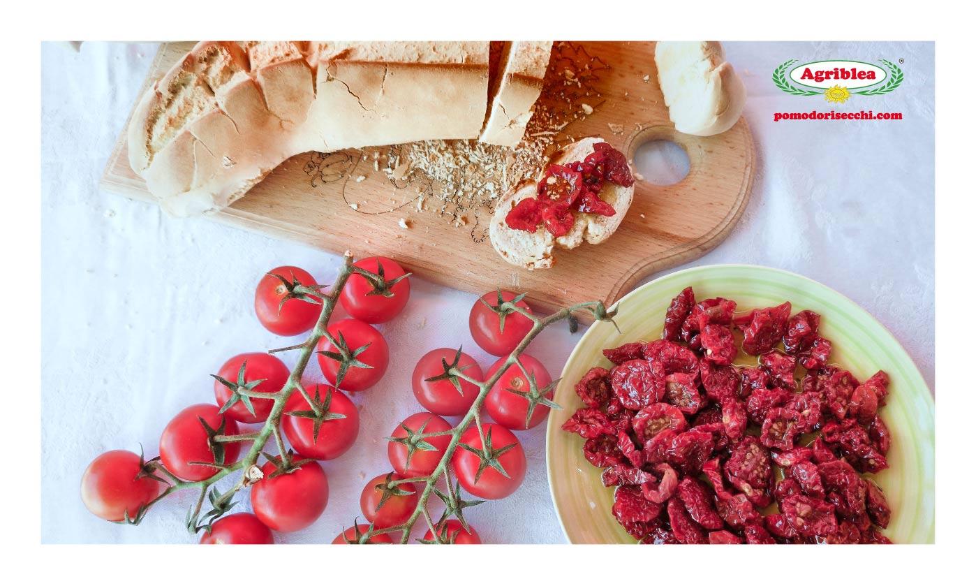 come mangiare i pomodori secchi bio