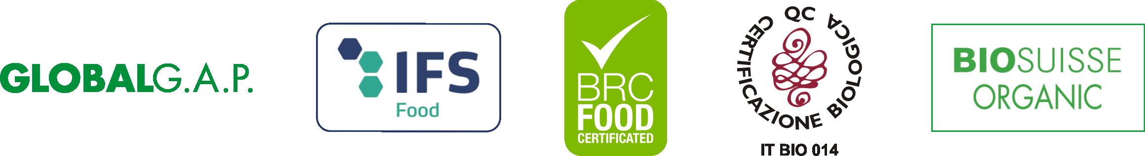 Certificazioni dell'azienda Agriblea - pomodori secchi bio