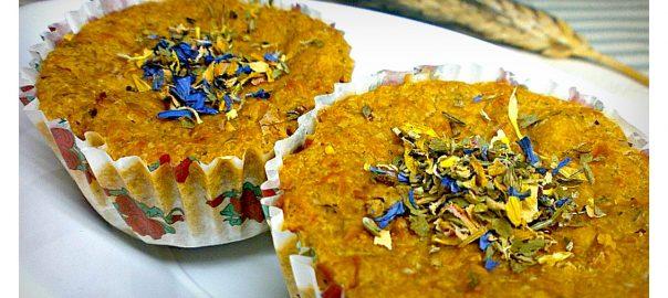 Muffin Salati Vegetariani con pomodori secchi a julienne