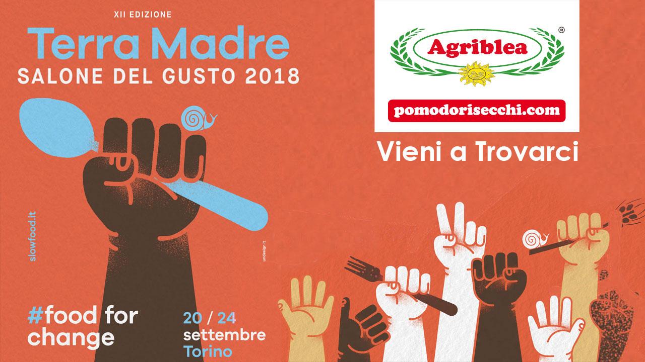 Agriblea presente al Salone del Gusto 2018 – TORINO