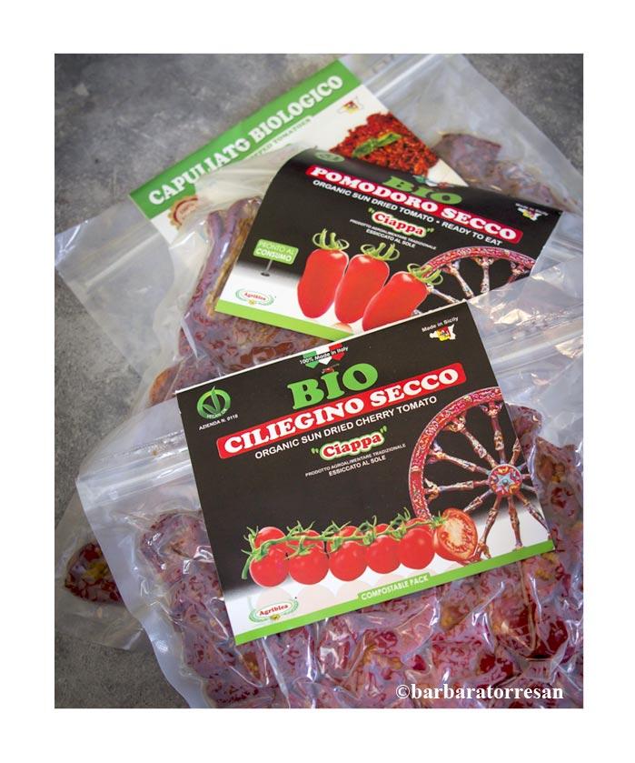 Confezioni pomodori secchi