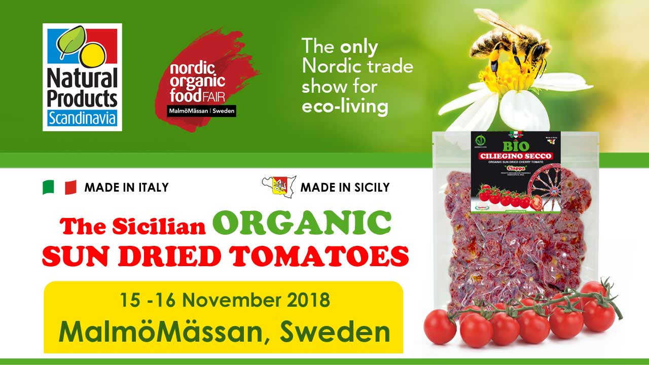 Agriblea at Natural Products SCANDINAVIA 2018 - MalmöMässan, SVEZIA