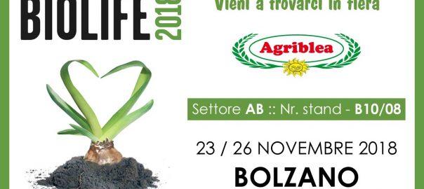Agriblea (pomodori secchi bio) presente al BIOLIFE 2018 - BOLZANO
