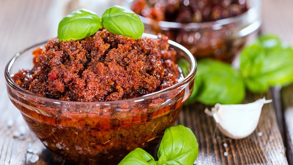 Pate di Pomodori secchi Bio (essiccati al sole) Ricetta vegan