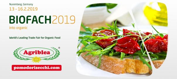 Biofach 2019 - Pomodori Secchi Bio Agriblea