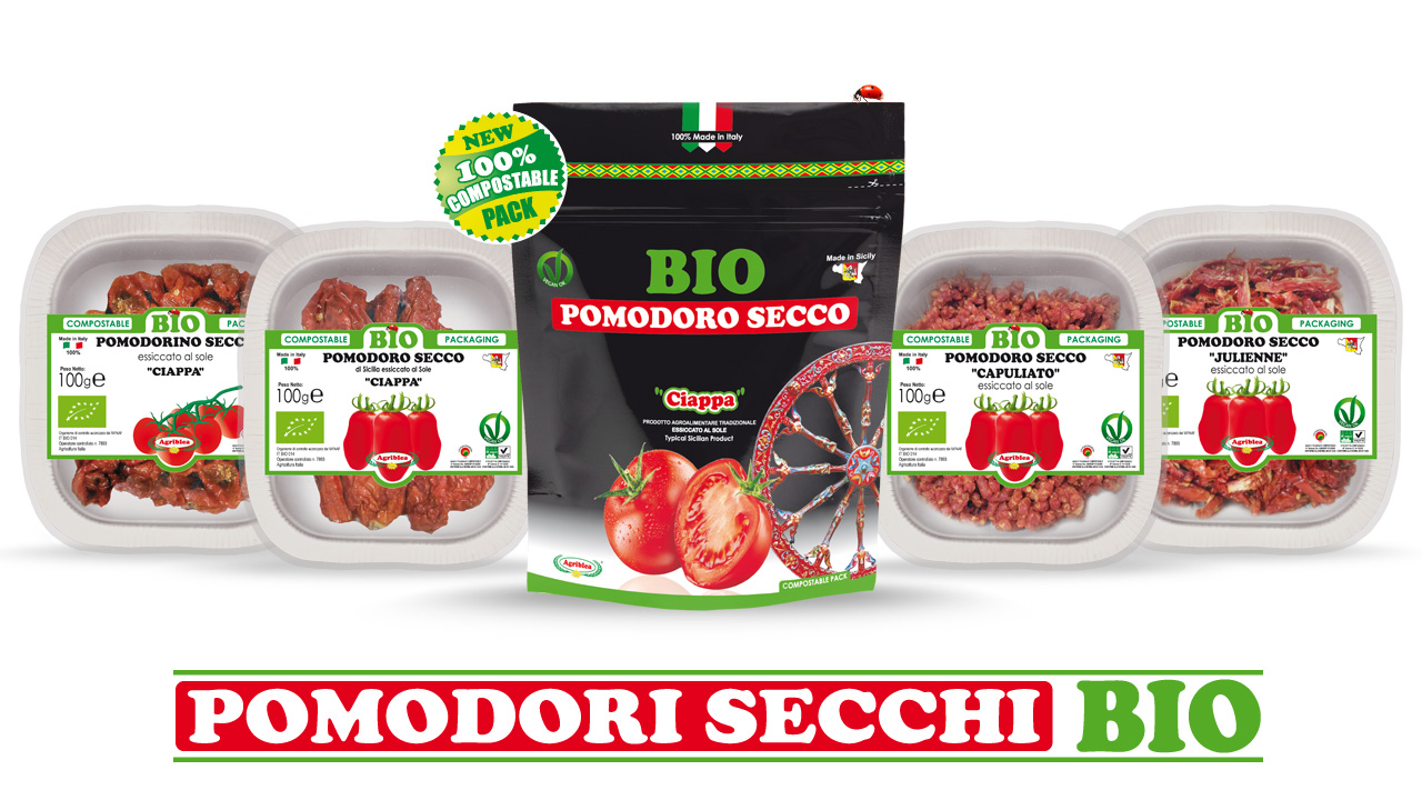 Pomodori biologici di Sicilia essiccati al Sole - Agriblea