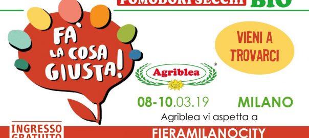 Agriblea a Fà la cosa giusta - MIlano 2019
