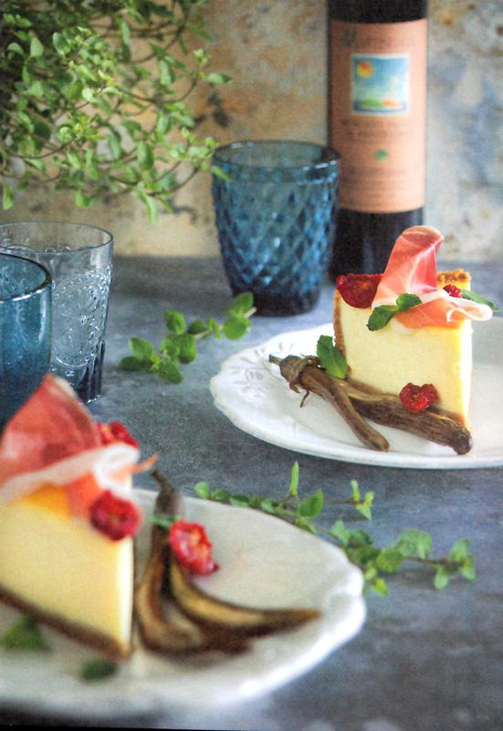 Cheese cake estiva con Pomodori Secchi BIO Agriblea