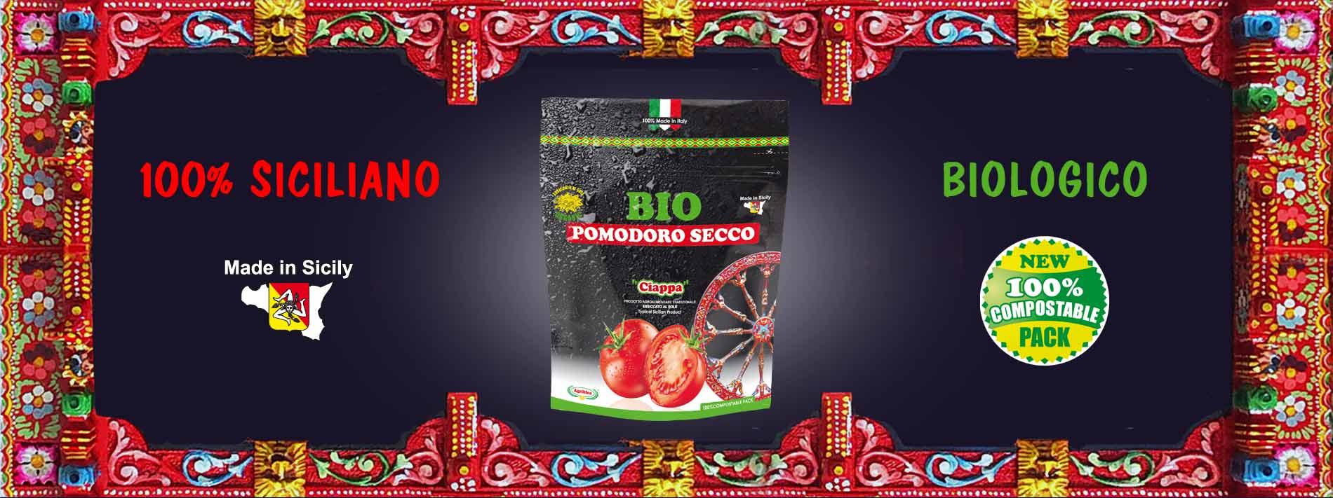 pomodori secchi bio 100% MADE IN SICILY
