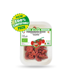 Vassoio 100% Compostabile biodegradabile - CILIEGINO SECCO BIO