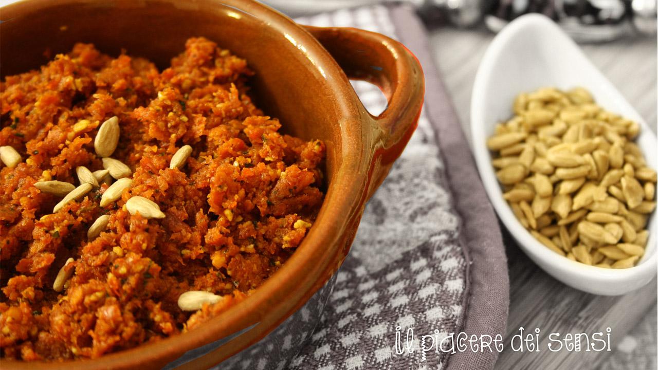 Pesto di pomodorini secchi Bio e semi di girasole