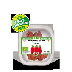 Vassoio 100% Compostabile biodegradabile - POMODORO SECCO BIO