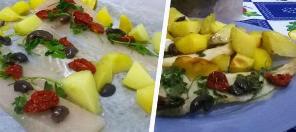 Filetti di merluzzo con Pomodorini Secchi Bio