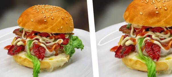 Hamburger con Pomodori Secchi