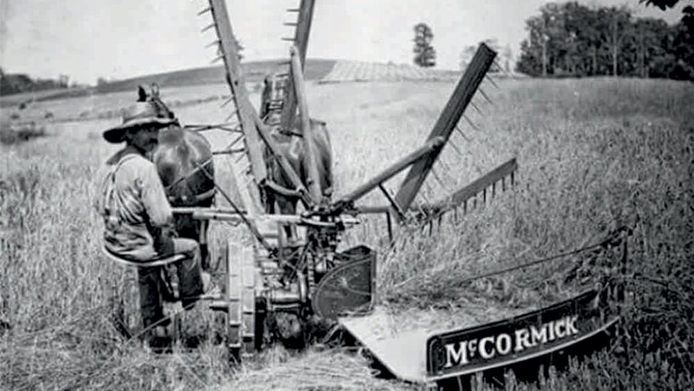 mietitrice meccanica McCormick