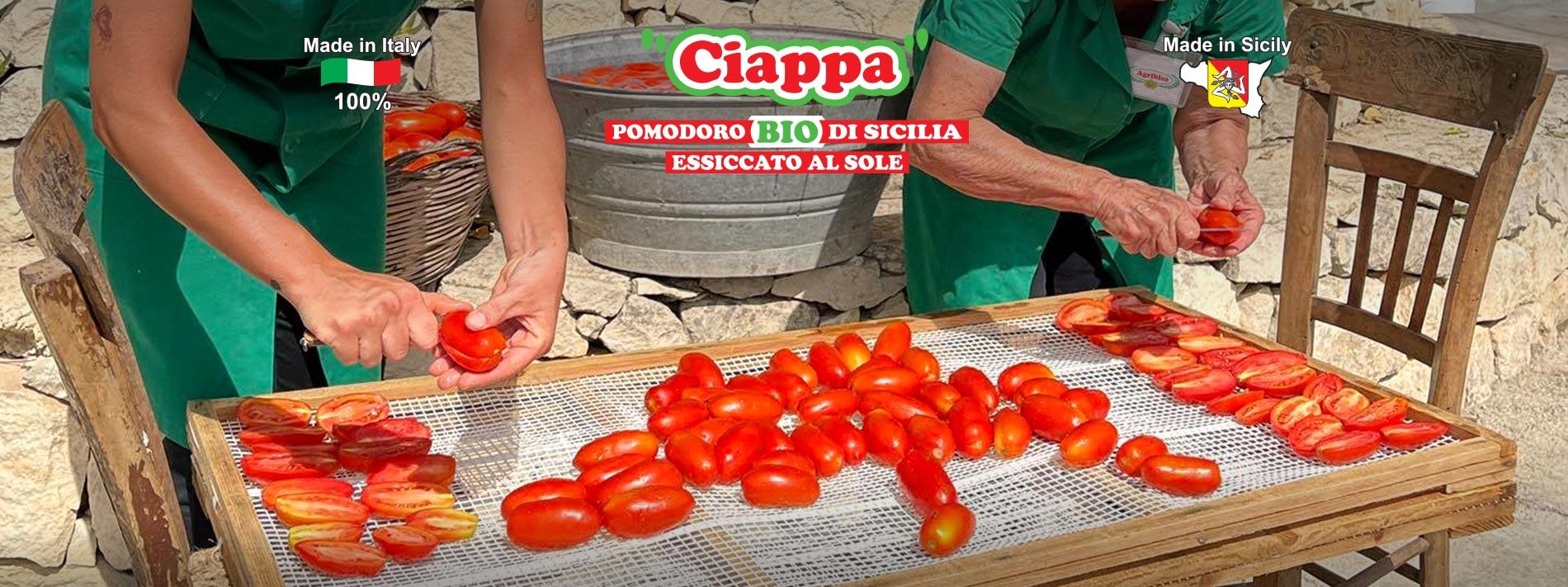 Pomodori Secchi Siciliani biologici